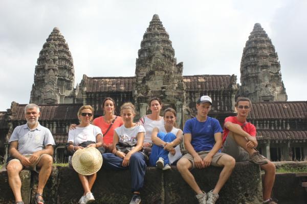Ai templi di Angkor Wat