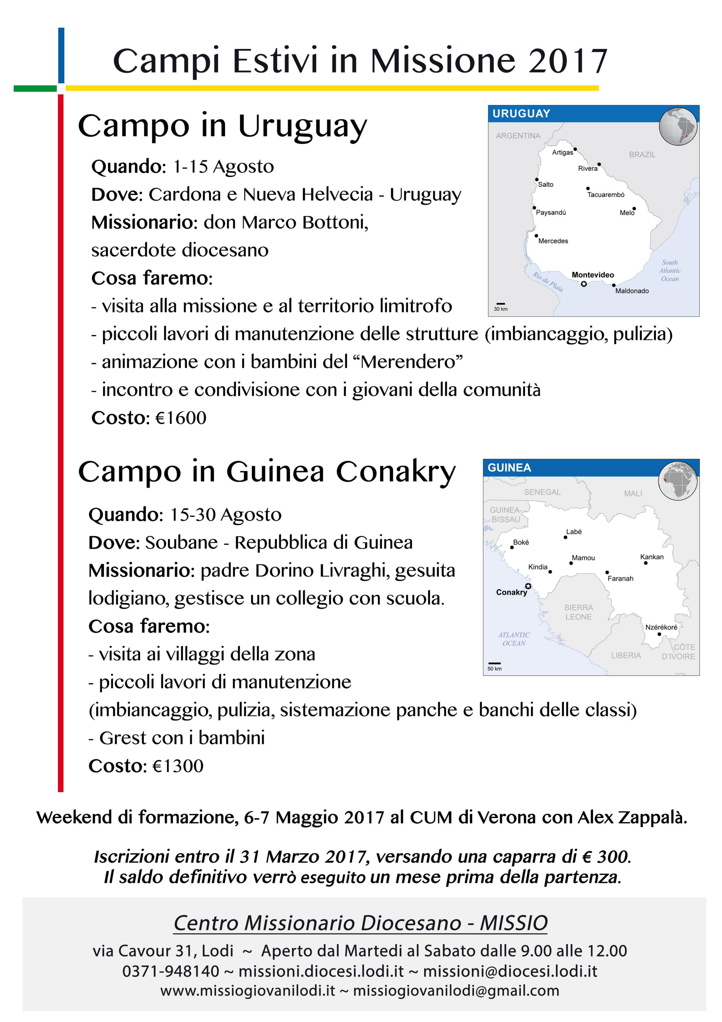 2017DescrizioneCampiUruguay-GuineaConakry