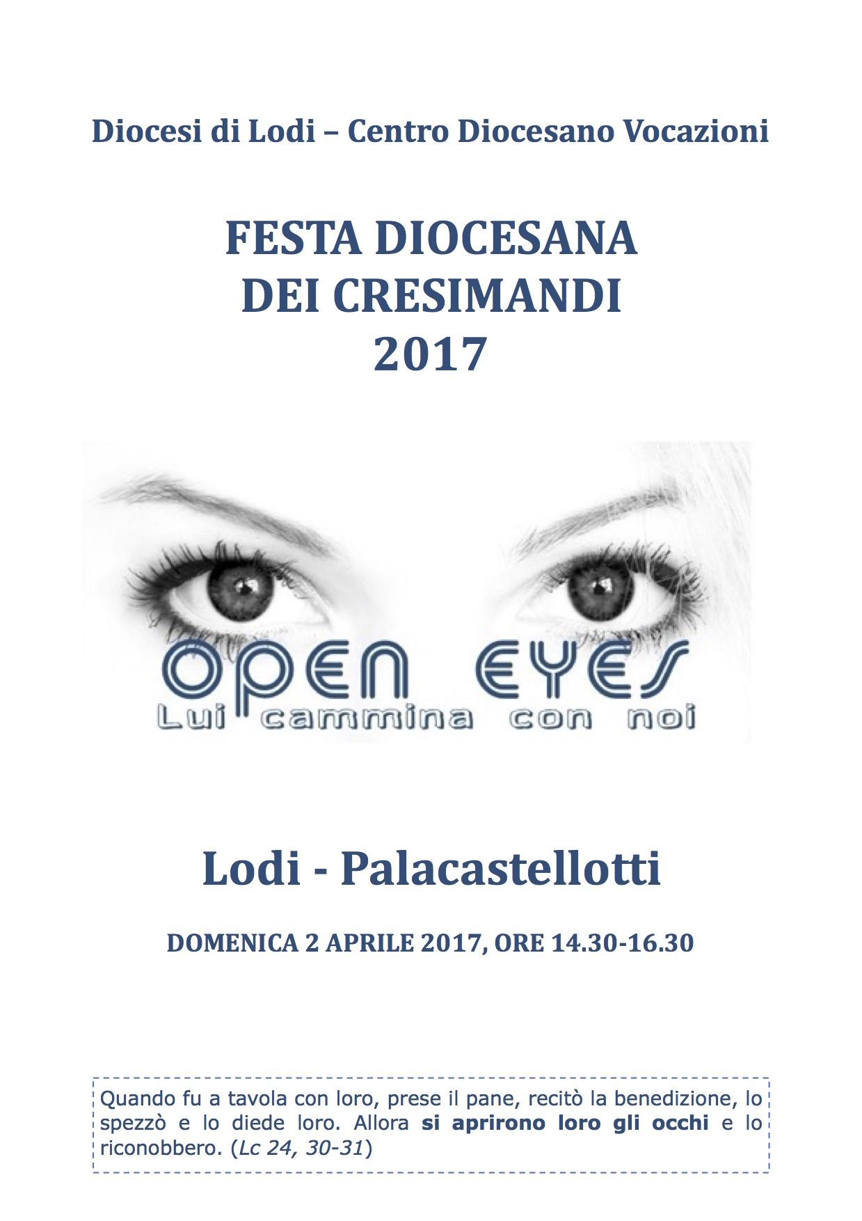 Festa Diocesana Cresimandi